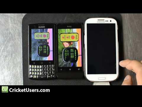 CricketUsers.com - HTC One V Vs Huawei Ascend Q M660 Vs Samsung Galaxy S3 (Jellybean) Benchmarks