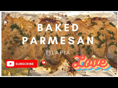 Quick & Easy BAKED PARMESAN TILAPIA