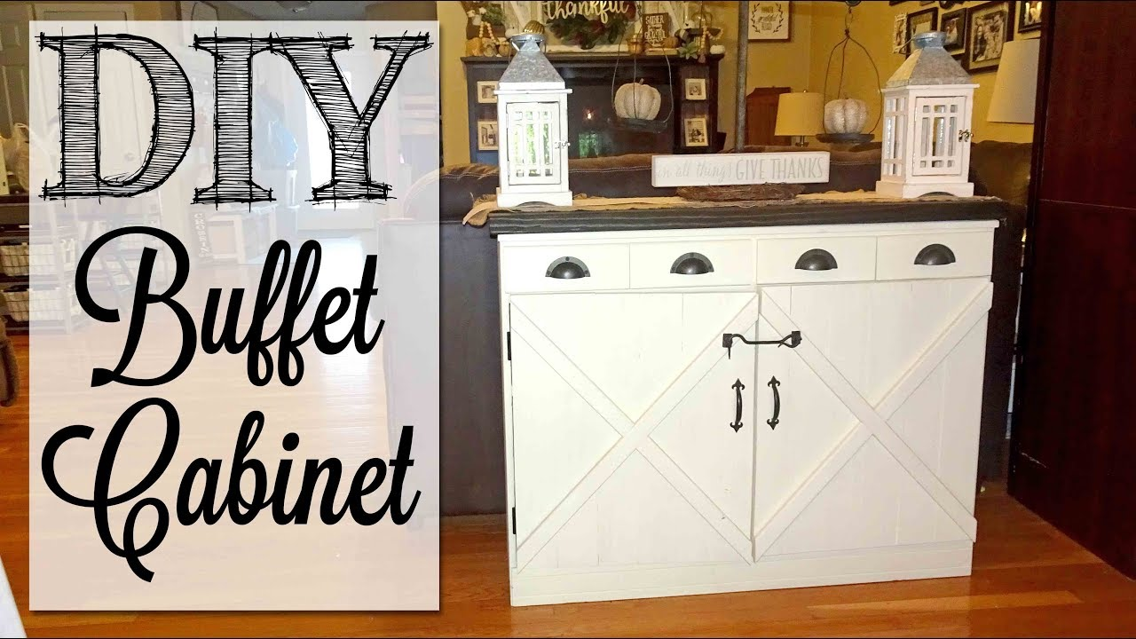 Buffet Cabinet Old Dresser Makeover