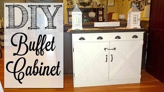 DIY Buffet Cabinet | Old Dresser Makeover