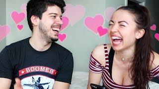 OUR FIRST KISS!! (Boyfriend Tag)