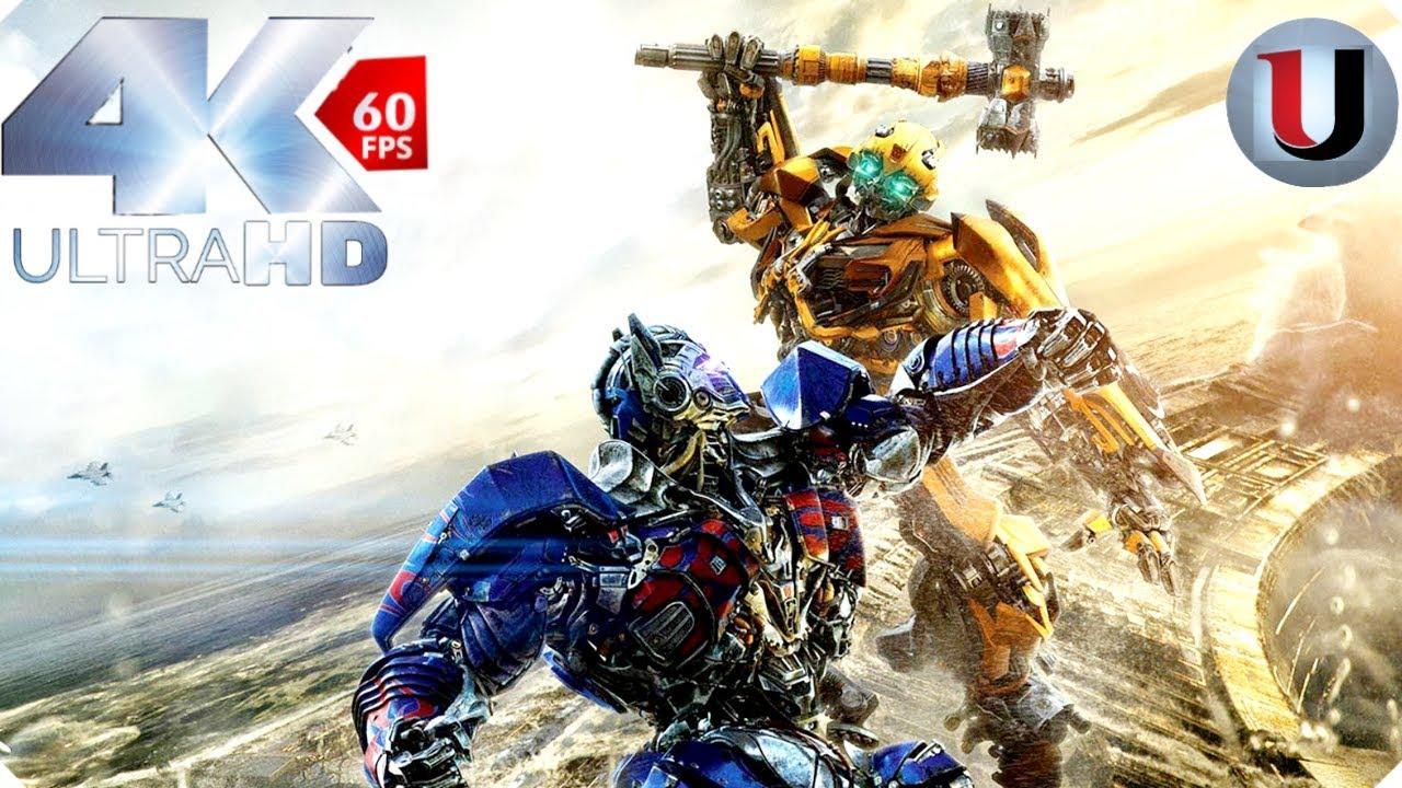 Transformers 5 The Last Knight Optimus Prime vs Bumble Bee (FULL HD)
