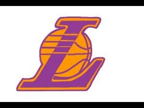 how to draw lakers logo youtube rh youtube com