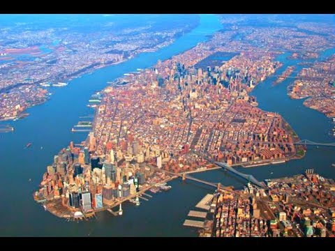 Landing at Newark Liberty International Airport - United Airlines 2013