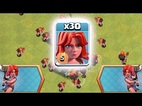 Thumbnail: STRONGEST DE TROOP IN THE GAME?!?🔸NEW VALKYRIE EVENT!!🔸Clash Of Clans