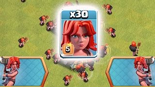 STRONGEST DE TROOP IN THE GAME?!?🔸NEW VALKYRIE EVENT!!🔸Clash Of Clans