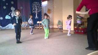 1 Урок танцев в садике