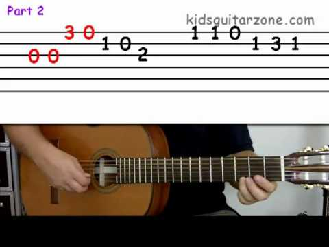 YOUR FIRST CHORD EASY G - Beginner Guitar Lesson - Kids Guitar ...