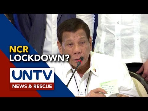 Pagpapatupad ng lockdown sa Metro Manila, hindi sinang-ayunan ng Pangulo