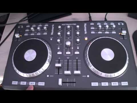 how to use numark mixtrack pro
