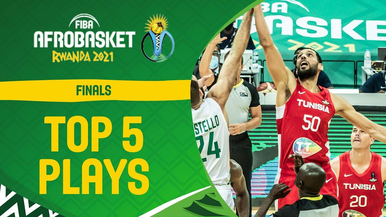 Nike Top 5 Plays | Finals | FIBA AfroBasket 2021