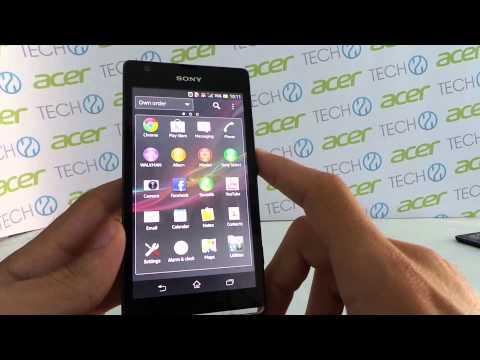 Sony Xperia SP okostelefon bemutató videó | Tech2.hu