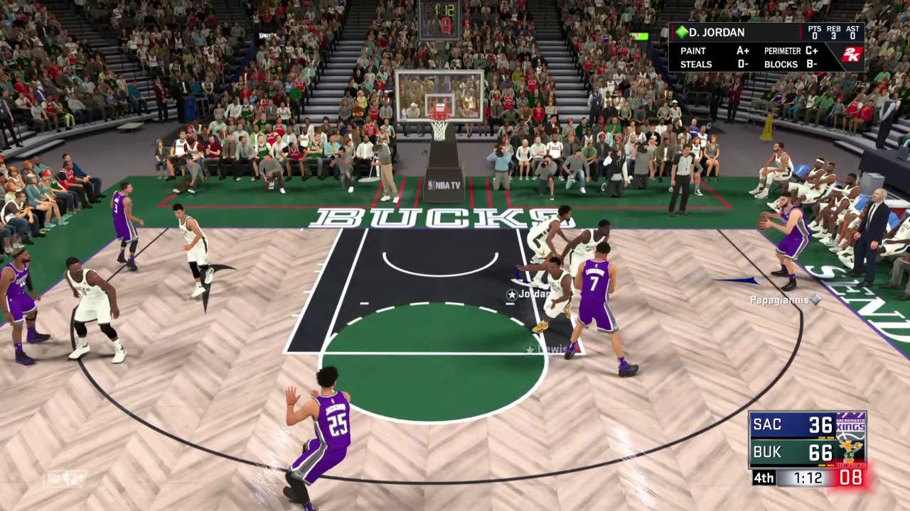 NBA 2K18 REGGIE LEWIS IS A SAVAGE