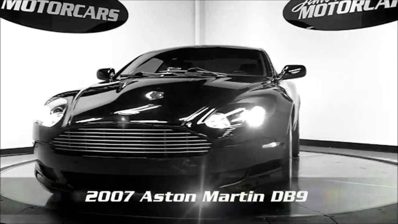 2007 Aston Martin Db9 Black Black Wine Jake S Motorcars Youtube