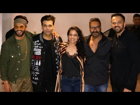 Karan Johar Host Success Party of SIMMBA  Ranveer Singh, Kajol, Ajay Devgan, Rohit Shetty & Sara Mp3