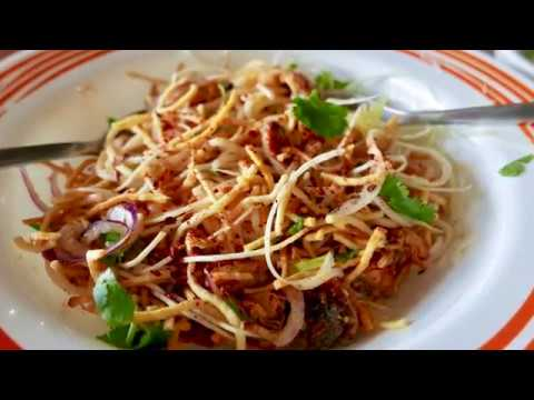 Burmese Food in Toronto at the Royal Myanmar Restaurant (4k)