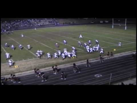 Part 1.  #2 Marcus Alexander 2008 Varsity Football Highlights. Frederick Douglass High School