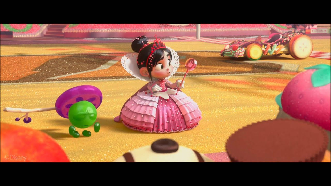 Wreck It Ralph Vanellope Becomes Princess Clip Hd Youtube