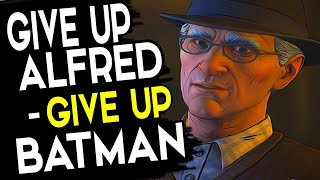 GIVE UP BATMAN or GIVE UP ALFRED - Batman Season 2 Episode 5 Same Stitch - ALL CHOICES