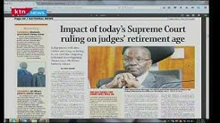 Supreme Court set to rule the retirement age of Judges