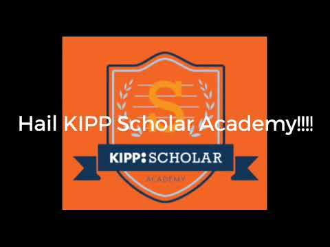 KIPP Scholar Academy Alma Mater Lyric Video with Vocals