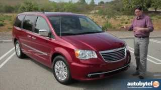 2013 Chrysler Town & Country Test Drive and Minivan Video Review