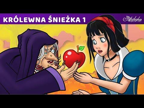 Bajki dla dzieci - Królewna Śnieżka po Polsku Bajka kreskówka na Dobranoc
