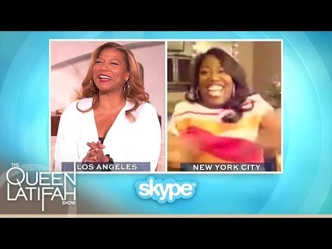 Sheryl Underwood Skypes With Queen Latifah About Her Date