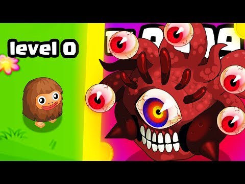 HOW STRONG IS THE STRONGEST MONSTER HERO EVOLUTION? (9999+ LEVEL MAX) l Clicker Heroes New Game  