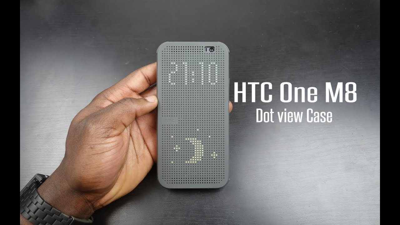 100%GENUINE HTC Dot View Cover Flip Case For HTC One M8 ...