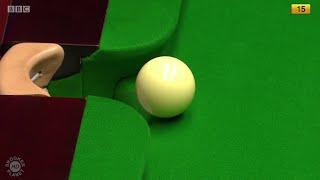 where s the cue ball going john virgo   2016 world snooker championship ᴴᴰ