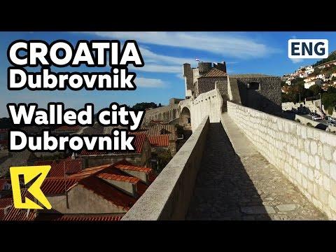 【K】Croatia Travel-Dubrovnik[크로아티아 여행-두브로브니크]성벽을 따라 보는 두브로브니크/Wall/Citadel/Tour
