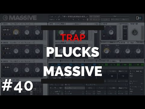 Trap Plucks in Massive | Free Preset