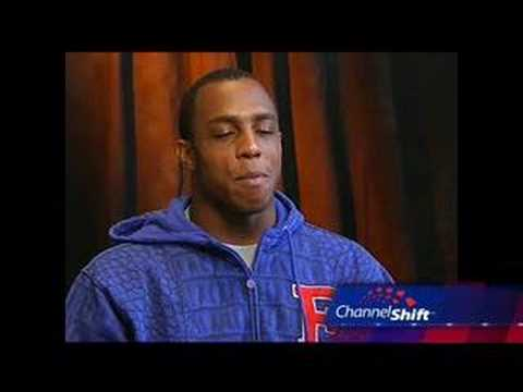 2008 NFL Draft Andre Caldwell Interview Video
