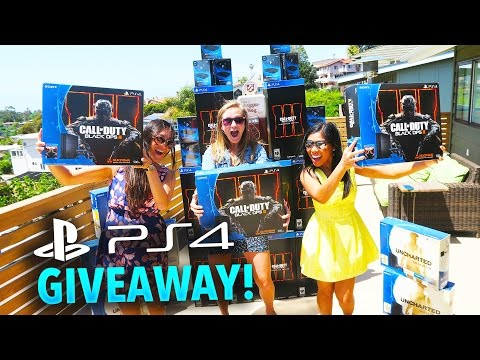 PS4 GIVEAWAY + YOUTUBE GAMING STARTER PACK!