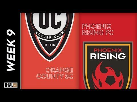 Orange County SC vs. Phoenix Rising FC: May 4th, 2019