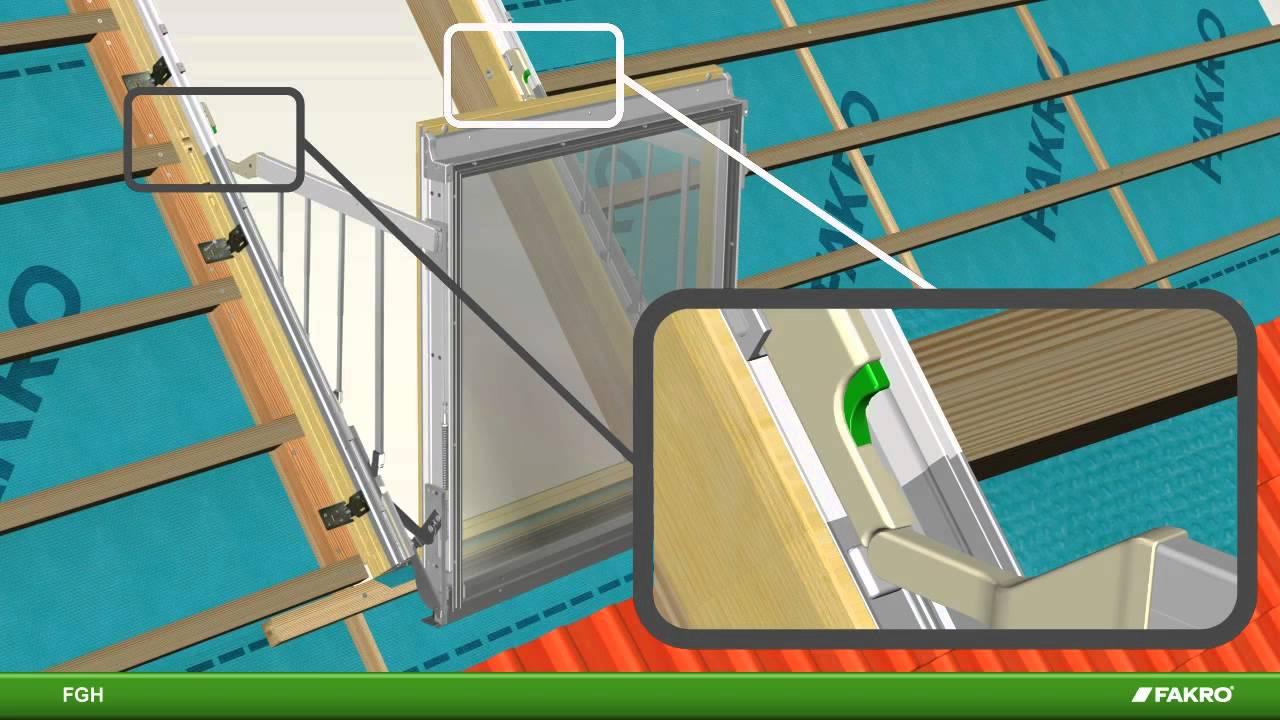 Fakro balkonfenster fgh galeria - youtube.