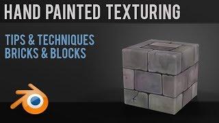 Games - Hand Painted Texturing - Bricks & Blocks