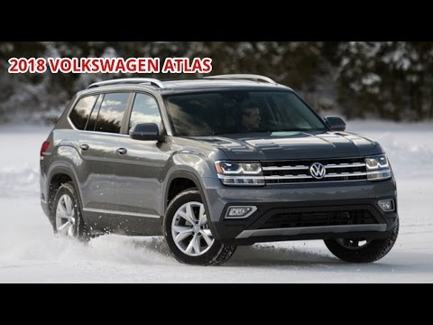 2018 volkswagen atlas Late to the party, come prepared The Atlas crossover