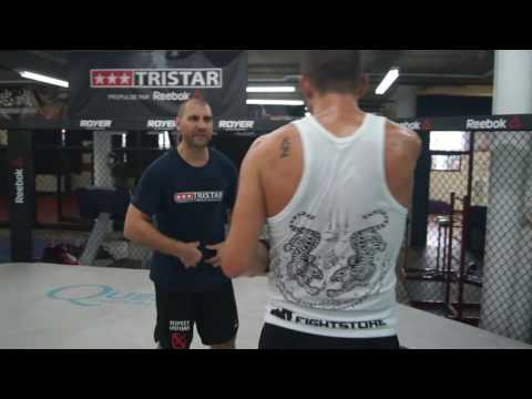 David Bertrand - Training with coach Sandro Ferr at Tristar Montreal