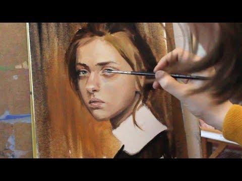 Портрет маслом мастер-класс