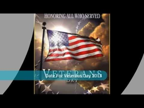Holiday History And Date For Veterans
