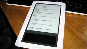 Put free epub books on your nook