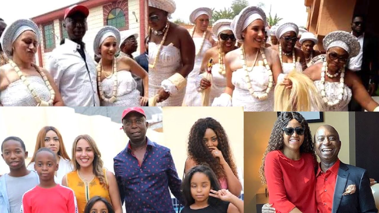 6 Wives Of Ned Nwoko Their Short Bio and Children (Regina Daniel Husband) - YouTube
