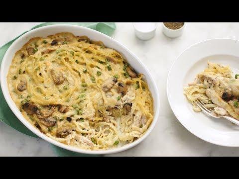 Make-Ahead Chicken Tetrazzini- Everyday Food with Sarah Carey