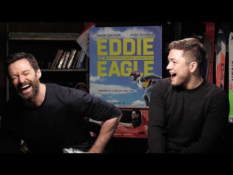 Cabbie Presents Hugh Jackman singing to Taron Egerton