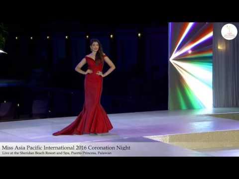 Miss India Asia Pacific International 2016| Coronation | Indian| Philippines| Srishti Vyakaranam
