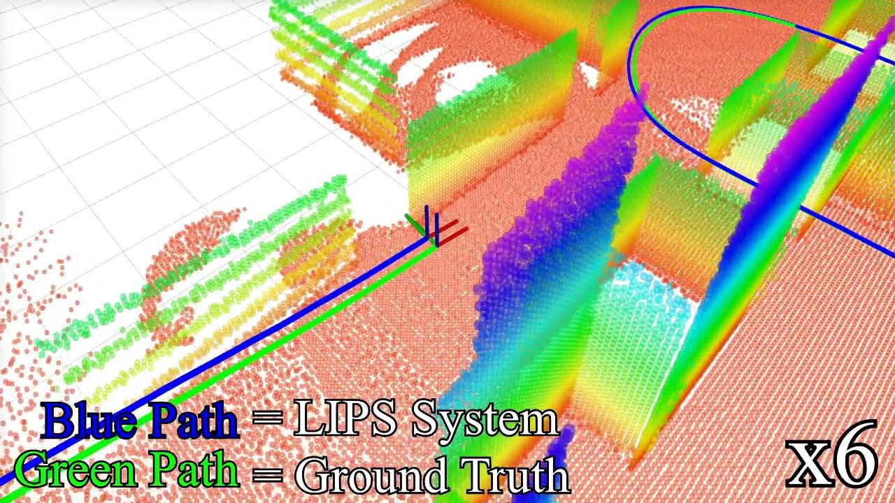 LIPS: LiDAR-Inertial 3D Plane SLAM
