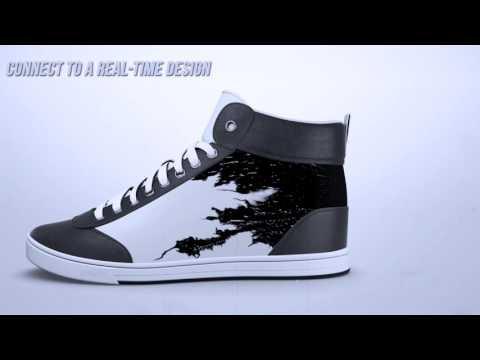 Conocé las zapatillas que cambian el diseño a través de una app
