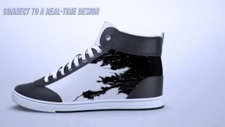 بالفيديو.. حذاء رياضى جديد يغير لونه وتصميمه عبر تطبيق على هاتفك